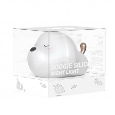 Ночник Baseus Cute Series doggie silicone night light/DGAM-B02