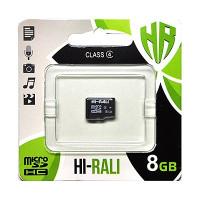 Карта памяти Hi-Rali 8gb 4 Class