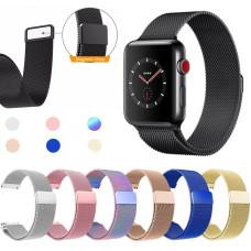 Ремешок Milanese Loop Apple Watch 38/40 mm. Steel №1