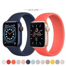 Силиконовый монобраслет Apple Solo Loop для Apple watch 38/40mm (135mm)