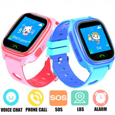 Детские часы Smart Baby watch Y85 GPS LBS