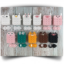 Silicone Case for AirPods 1/2 Pop it Animals series