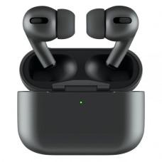 Наушники Apple AirPods PRO BLACK Original series 1:1 Bluetooth Touch +Pop Up +БЗ с Яблоком