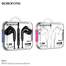 Наушники MP3 Borofone BM53 Original Series 3.5mm с микрофоном