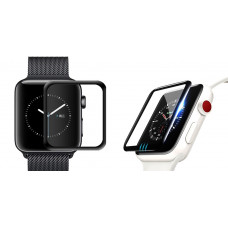 Защитное стекло для Apple Watch 3D Full Glue 38mm