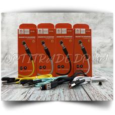 Data Cable Denmen D18L Lightning Магнитный (Гарантия 6 мес.)