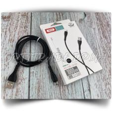 Data Cable XO NB-Q165 Micro 3A Быстрая зарядка 1m